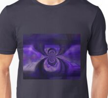 Blue Copper Vortex Unisex T-Shirt