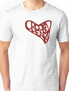 Crooked Heart Unisex T-Shirt