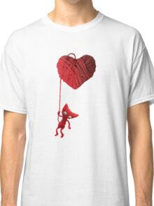 Unravel Yarny Heart Classic T-Shirt
