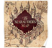The marauder's map! Poster