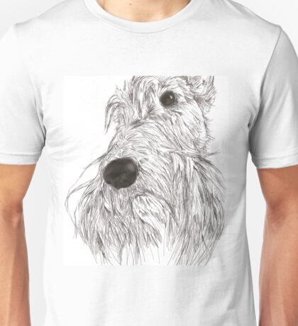 Scottie Sketch Unisex T-Shirt