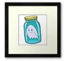 Small Bottle - RICK MORTY Framed Print