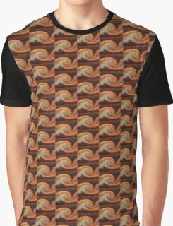 Copper Twirl Graphic T-Shirt