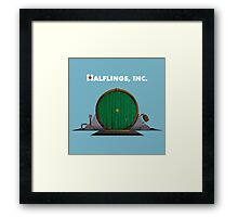 Halflings, Inc. Framed Print