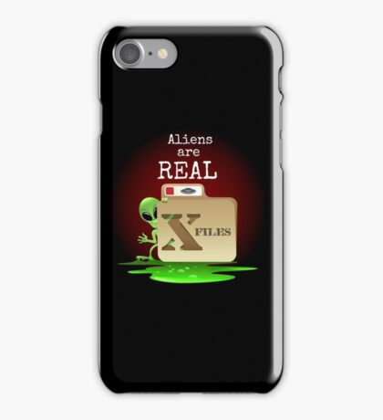 Aliens are Real iPhone Case/Skin