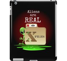 Aliens are Real iPad Case/Skin