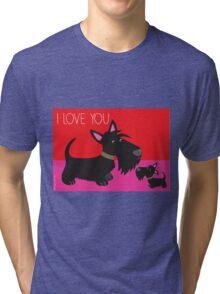 I Love You – Scottie Tri-blend T-Shirt