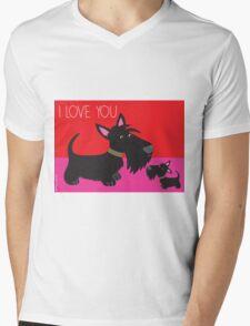 I Love You – Scottie Mens V-Neck T-Shirt