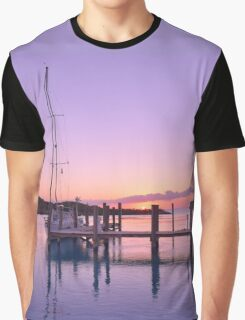 Sundown Serenity Graphic T-Shirt