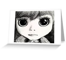 little girl /Agat/ Greeting Card