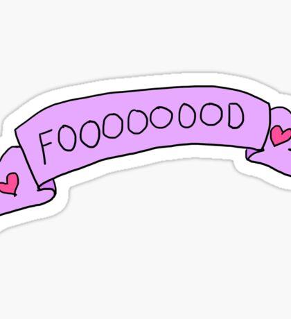 Fooooooood! Sticker