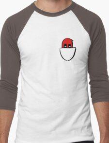 Peek - a - pool Men's Baseball ¾ T-Shirt