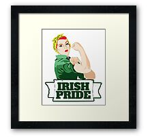 Irish Pride St. Patrick's day Framed Print