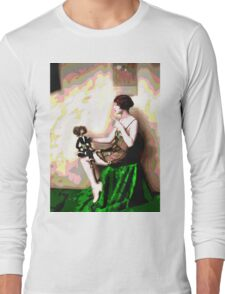 Retro Art - Psychedelic Puppet Long Sleeve T-Shirt
