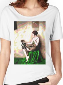 Retro Art - Psychedelic Puppet Women's Relaxed Fit T-Shirt