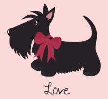 Love Scottie Dog Baby Tee