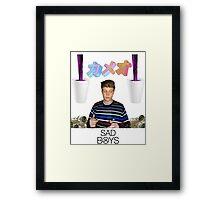 Yung Lean Framed Print