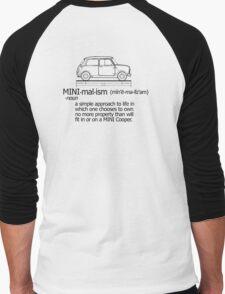 MINI-malism (minimalism) - Classic edition Men's Baseball ¾ T-Shirt