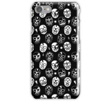 Máscaras (Black & White) iPhone Case/Skin