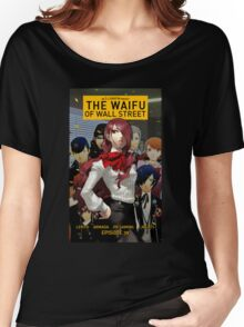 The waifu of wall street mitsuru from persona 3 Women's Relaxed Fit T-Shirt