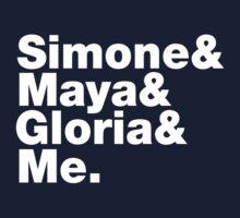Feminist Greats List One Piece - Long Sleeve