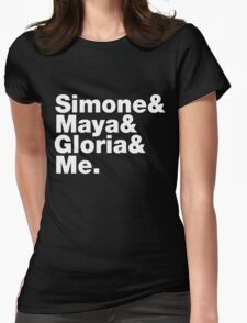 Feminist Greats List Womens Fitted T-Shirt