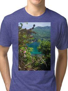 Window Through the Wilderness - Nature Photography Tri-blend T-Shirt