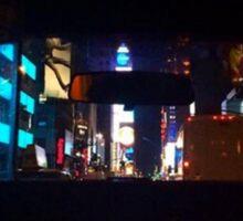 Times Square Reflective Sticker