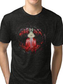 D.A. Wiley - Animal Life (Cover, no logo, album art by Tsveta Komaticheva) Tri-blend T-Shirt