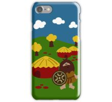 Ancient Village iPhone Case/Skin