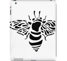 Bee stencil iPad Case/Skin