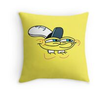 Spongebob Smirk Face Throw Pillow