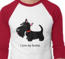 I love my Scottie Men's Baseball ¾ T-Shirt
