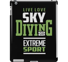 Sky Diving Extreme Sport iPad Case/Skin