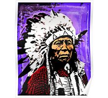 Chief Flying Hawk Poster