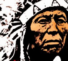 Chief Flying Hawk Sticker