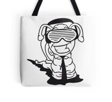 party dj club funky cool sunglasses headphones music party disco dancing deejay Tote Bag