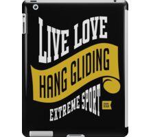 Hang Gliding Extreme Sport iPad Case/Skin