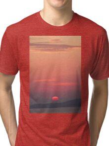 Evening Light - Nature Photography Tri-blend T-Shirt