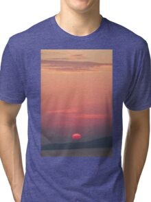 Evening Light - Nature Photography Tri-blend T-Shirt