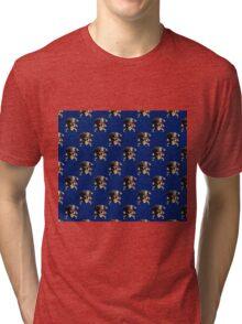 Pirate Skull And Crossbones Tri-blend T-Shirt