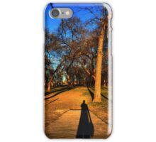 Shadow Disc Golfer iPhone Case/Skin