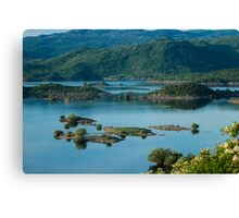 Little Wild Islands - Travel Photography Canvas Print