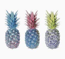 Many pineapples Baby Tee