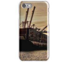 the Container ship #2 iPhone Case/Skin