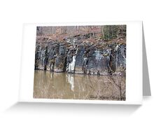 Rock Face Greeting Card