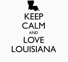 KEEP CALM and LOVE LOUISIANA Unisex T-Shirt