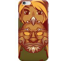 Faces of the Hero - Goron iPhone Case/Skin