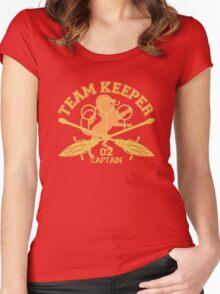 Gryffindor- Quidditch - Team Keeper Women's Fitted Scoop T-Shirt