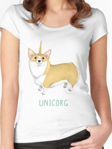 Unicorg Women's Fitted Scoop T-Shirt